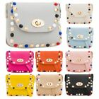 New Fashion Studded Design Faux Leather Women's Mini Shoulder Bag