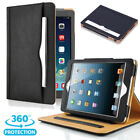 Newest Soft Leather Wallet Smart Case Cover Sleep / Wake Stand for APPLE iPad