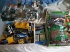 LEGOS LOT FROM DIFFERENT SETS STAR WARS, MINE CRAFT POLICE AND OTHERS
