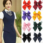 Внешний вид - Fashion Unique Womens Ladies Girls Satin Novelty BIG Bow Tie Wedding Gift Newest