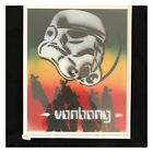 Atar Wars Stormtrooper Art Print 11x14 Framed Rasta Colors Street Art Rare Decor