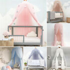 Children's Bed Canopy Dome Fantasy Net Curtain Play Tent Round Lace Mosquito Net