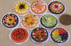 1:12 Scale Hand Made Fruit Flan Kitchen Shop Tumdee Dolls House Accessory ML12