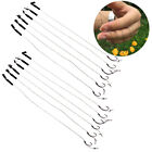 Внешний вид - 6Pcs Barbless Size 6 8 10 Carp Fishing Hook Tackle Hair Rigs Accessories Tackles