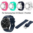 Silicone Bracelet Strap Sports Watch Band For Samsung Gear S3 Frontier / Classic