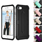 2in1 Hard PC+ Soft TPU Back Case Shockproof Hybrid Cover For iPhone 7 8 Plus