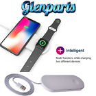 2 in 1 Wireless Phone Watch Charger Dock for iWatch Series 3/2 iPhone X/8/8 Plus
