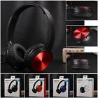 Bluetooth Wireless Headphone Stereo Headsets with Mic For Sony ZX330BT & Phone