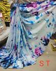 Latest Indian Bollywood Designer Sari Satin Sari Party Wear Sari Fancy Sari