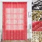 Big Payette Sequin 52 x 108-Inch Window Drapes Curtains 2 Panels Home Decor SALE