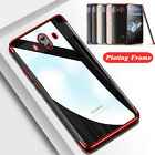 For Huawei Mate 10 Pro P20 Lite Plating Clear Silicone TPU Soft Back Case Cover