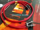 7N Copper Silver Plated RCA Audio Cable Rhodium Plug Connector