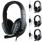 3.5mm 2-In-1 Converter Cable For Gaming Headset Headphone Black Hotsale