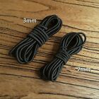 2m Rubber Band Elastic Rope Diameter 2mm/3mm For Leather Craft DIY Tool