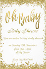 10 Stunning Boy or Girl Baby Shower Invitations Brand New 2018 Design