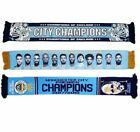 Manchester City Champions of England 2018 Scarf Selection Record Breakers