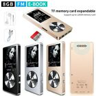 "M220 HIFI MP3 1.8"" TFT 8GB Lossless Music Player FM Radio Video Player Speaker"