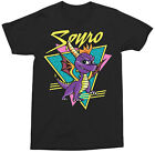 Spyro The Dragon Retro Adult T-Shirt - Computer game, video game, PlayStation,