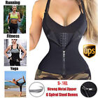 Body Shaper Waist Trainer Tummy Fat Burner Plus Size Vests W