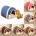 Pet Dog Soft Bed House Puppy Washable Kennel Mat Pad Puppy Cat Cushion Bed USA