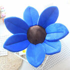 Baby Infant Shower Bathtub Blooming Flower Cushion Sponge Bath Mat 80CM