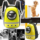 Pet Dog Cat Astronaut Backpack Space Capsule Breathable Outdoor Carrier Bag USA