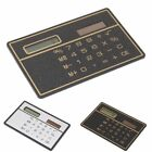 Ultra Thin Mini Credit Card Sized 8Digit Solar Powered Pocket Calculator Fashion