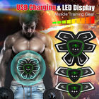 Muscle Training Gear ABS Stimulator Trainer Fit Body Home Exercise Shape Fitness image