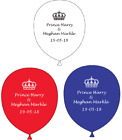 Royal Wedding Prince Harry Meghan Markle Party Supplies Latex balloons ND