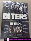 POSTER BITERS PROMO ADVERT ELECTRIC / BLOOD cm. 42x60
