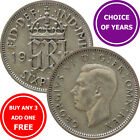 Sixpence (6d) Coin - Choice of Year - 1947-1952 - George VI