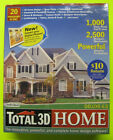 Total 3D HOme Deluxe 6.0 Complete design Software, 20 programs in one, 2 Cd's