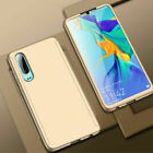 360° Full Cover Case + Tempered Glass For Huawei P9 P10 P20 Lite Mate 20 10 Pro