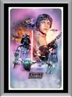 The Empire Strikes Back Art A1 To A4 Size Poster Prints $24.6 AUD on eBay