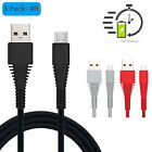 3x 1x 4FT Micro USB Data Sync Charger Charging Cable Cord for Android Samsung LG
