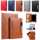 Genuine Leather Smart Magnetic Case Flip Stand Cover for iPad 9.7 2018 6th Gen