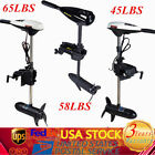 Electric Trolling Motor Electric Outboard Brush Motor Boat Engine 45/58/65LBS