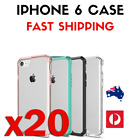 20 PACK - Phone 6 / Transparent Protective Full iPhone Cover Case / ColouredCase