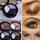 3 Colors Eyeshadow Matte Natural Smoky Cosmetic Eye Shadow Palette Set Make Up