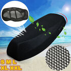 3D Motorcycle Electric Bike Net Seat Cover Breathable Sun protection Cushion GK1