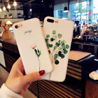 Cute  Pattern Rubber Soft TPU Silicone Case Cover For iPhone 8 X 6s 7 Plus