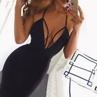 Women&#039;s Bandage Bodycon Sleeveless Evening Party Cocktail Club Short Mini Dress <br/> Recommend✔UK Seller✔Fast Shipping✔Easy Return✔