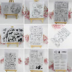Внешний вид - DIY Transparent Clear Silicone Rubber Stamp Cling Diary Scrapbooking Card Decor