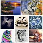Full Drill 5D Diamond Painting DIY Animal Embroidery Cross Stitch Home Decor