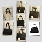 CALVIN KLEIN LEATHER SATCHEL CROSSBODY HANBAGS / CHOOSE COLOR-STYLES / NWT