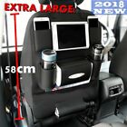 PU Leather Travel Car Seat Back Organiser Waterproof iPad Holder Table Foldable1
