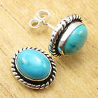 925 Silver Plated Natural TURQUOISE & Other Gemstone Earrings FASHION Jewelry