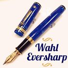 Wahl Eversharp Decoband Amalfi Blue Oversize Super Flex nib Fountain Pen
