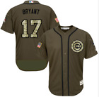 2017 Majestic Chicago Cubs Kris Bryant Salute to the Military Flex Base Jersey