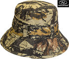 Highlander Reversible Hunting Army Camo Military Bush Bucket Fishing Sun Hat New